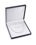 7.0-7.5mm Freshwater Pearl Necklace & Earrings - Fourth Image
